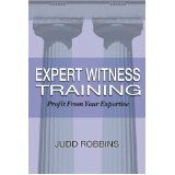 Expert Witness Training Book Site